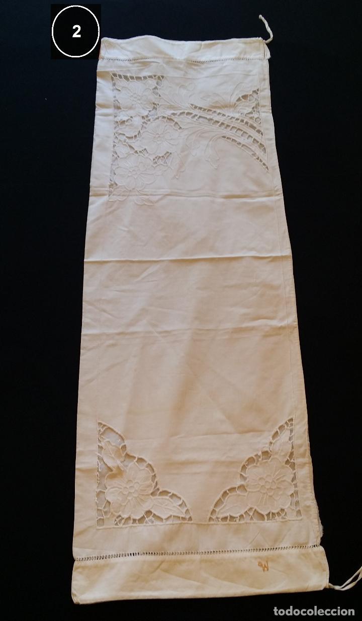 Antigüedades: Dos antiguas fundas – bordados modernistas. - Foto 12 - 124566003