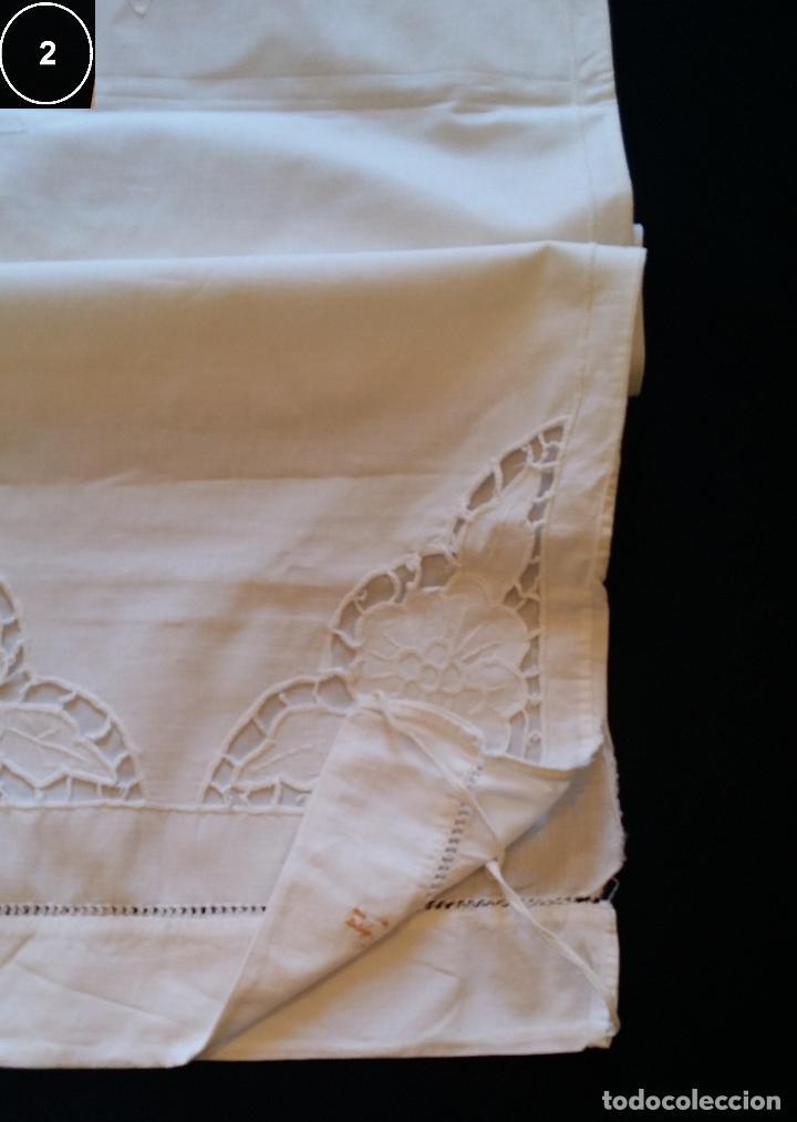 Antigüedades: Dos antiguas fundas – bordados modernistas. - Foto 13 - 124566003