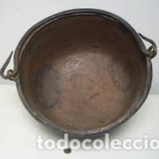 Antigüedades: CALDERA DE COBRE . Lote 124571779
