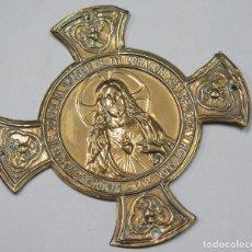 Antigüedades: ANTIGUO BENDECIR. SAGRADO CORAZON. Lote 124583155