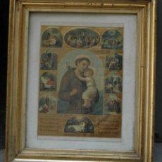 Antigüedades: MARCO EN PLATA DORADA ISABELINO 63X52,5 CM. INTERIOR LUZ: 42X41,5 CM.. Lote 124603571