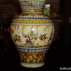 Antigüedades: JARRÓN TIESTERO DE SEVILLA SIGLO XVIII. Lote 124614915