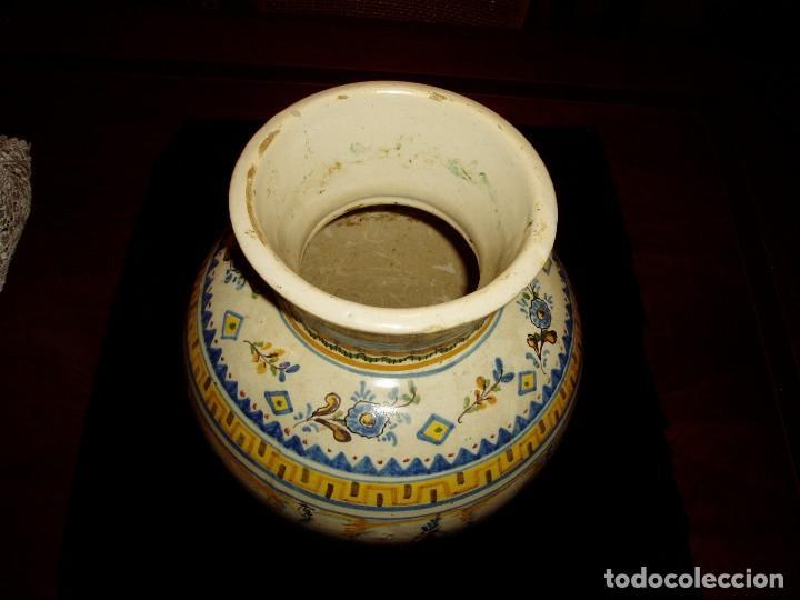 Antigüedades: Jarrón Tiestero de Sevilla Siglo XVIII - Foto 3 - 124614915