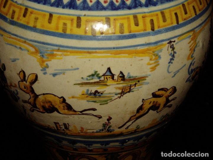 Antigüedades: Jarrón Tiestero de Sevilla Siglo XVIII - Foto 6 - 124614915