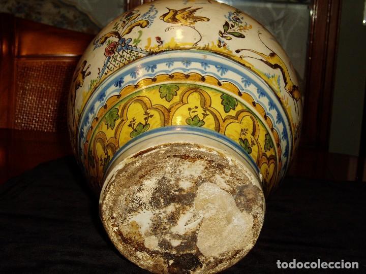 Antigüedades: Jarrón Tiestero de Sevilla Siglo XVIII - Foto 7 - 124614915
