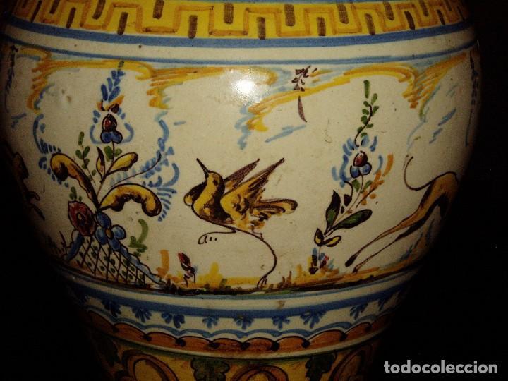 Antigüedades: Jarrón Tiestero de Sevilla Siglo XVIII - Foto 9 - 124614915