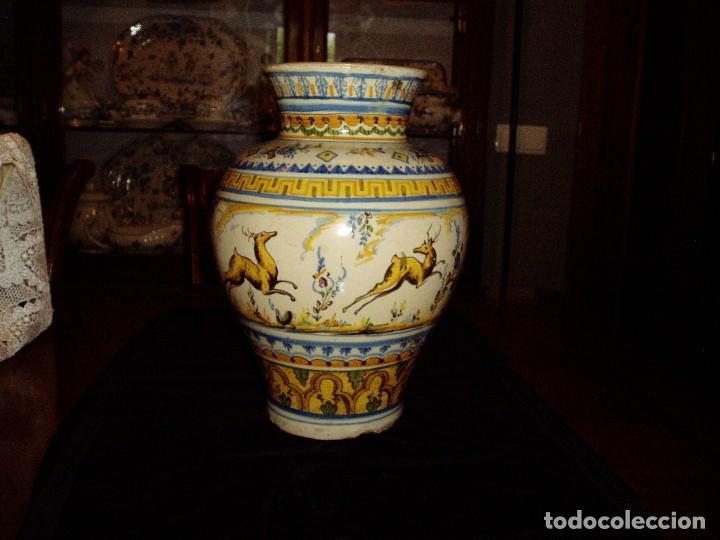 Antigüedades: Jarrón Tiestero de Sevilla Siglo XVIII - Foto 11 - 124614915