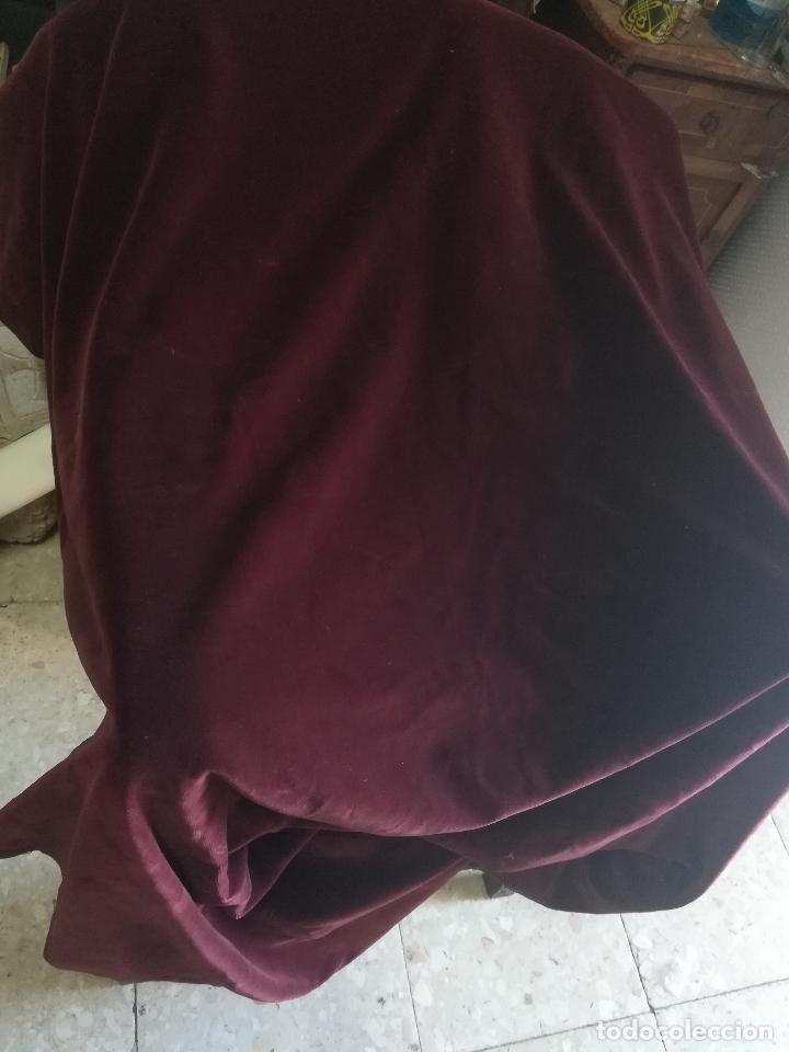 Antigüedades: Terciopelo antiguo algodon - Foto 3 - 124615927