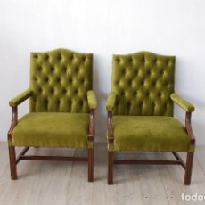 Antigüedades: SILLONES INGLESES. Lote 124619355
