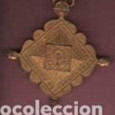 Antigüedades: MUY INTERESANTE MEDALLA ADORACIO NOCTURNA DIOCISIS DE BARCELONA - AL SANTISIMO SAGRAMENTO. Lote 124621331