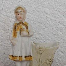 Antigüedades: ANTIGUO PALILLERO DE PORCELANA BISCUIT . Lote 124652831