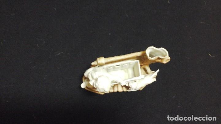 Antigüedades: Biscuit-florero de ppios siglo xx .Marcado - Foto 10 - 124684375