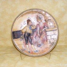 Antigüedades: PLATO TERRACOTA ANTIGUO. Lote 124689623