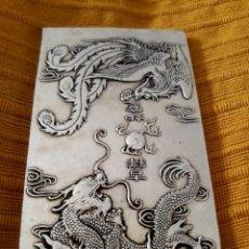 Antiquitäten - ANTIGUO LINGOTE PLATA TIBETANA - 146915248