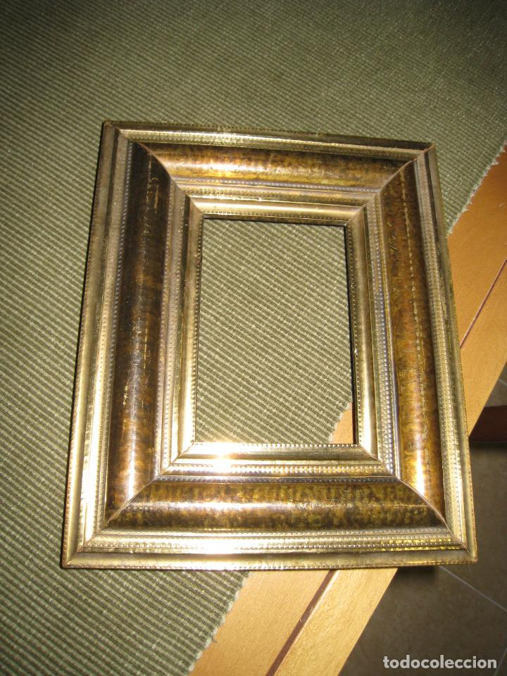 antiguo marco de madera recubierto con chapa me - Comprar Marcos ...