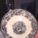 Antigüedades: GRAN FUENTE LA AMISTAD FÁBRICA DE CARTAGENA 33.5. Lote 124886932