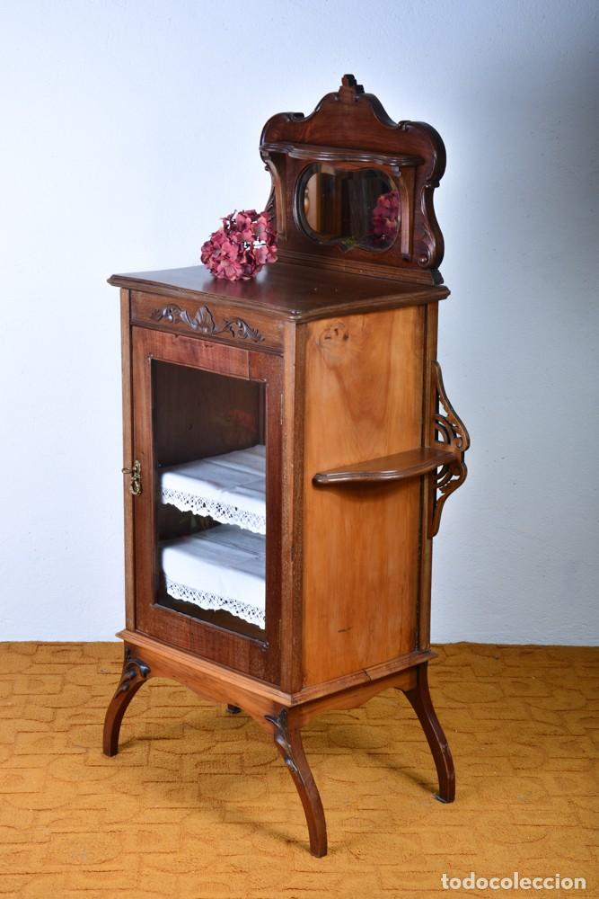 mueble auxiliar de comedor - vitrina expositor - Kaufen Antike ...