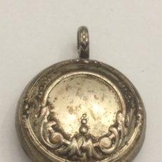 Antigüedades: ANTIGUO LLAMADOR DE ANGEL DE PLATA. Lote 125014562