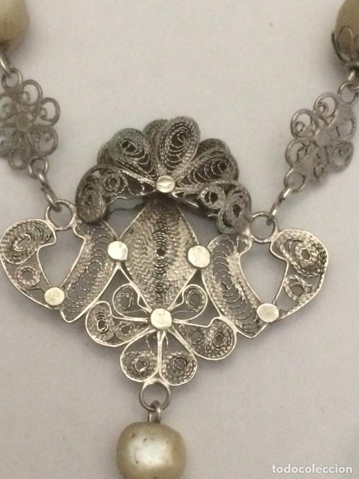 Antigüedades: Antiguo Rosario madre perla - Foto 4 - 125014846