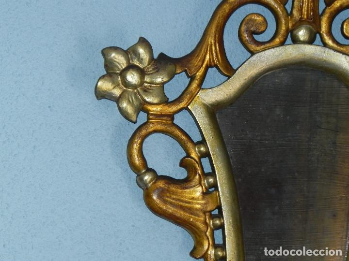 Antigüedades: ** PRECIOSA CORNUCOPIA ANTIGUA EN MADERA TALLADA Y PANDE ORO SIGLO XVIII / XIX ** - Foto 4 - 125050211