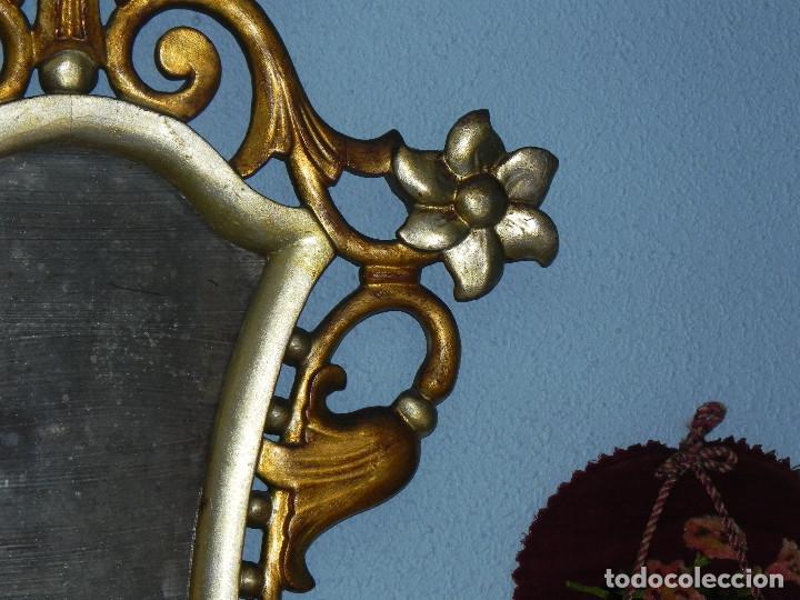 Antigüedades: ** PRECIOSA CORNUCOPIA ANTIGUA EN MADERA TALLADA Y PANDE ORO SIGLO XVIII / XIX ** - Foto 5 - 125050211