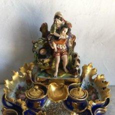 Antigüedades: ESCRIBANÍA VIEJO PARIS . Lote 125050979