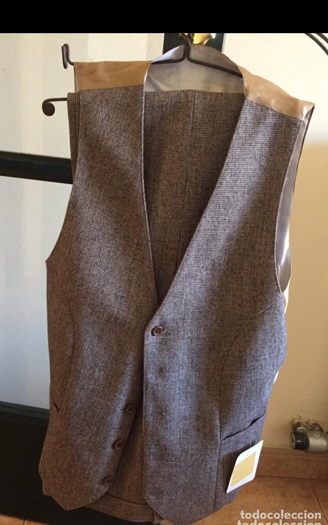 Antigüedades: Antiguo traje tergal modelo minister - Foto 3 - 125068327