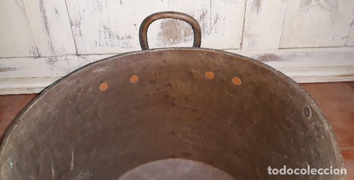 Antigüedades: OLLA DE COBRE SIGLO XIX - Foto 4 - 125068991