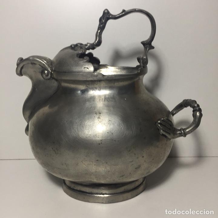 ANTIGUA TETERA (Antigüedades - Plateria - Varios)