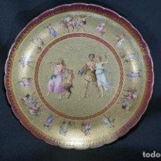 Antigüedades: PLATO PORCELANA. VIENA. AUSTRIA. SIGLO XIX-XX.. Lote 125072335