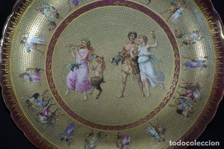 Antigüedades: PLATO PORCELANA. VIENA. AUSTRIA. SIGLO XIX-XX. - Foto 2 - 125072335
