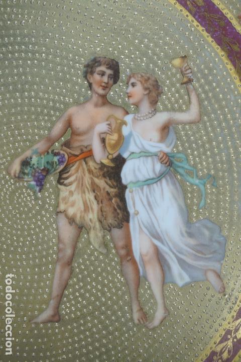 Antigüedades: PLATO PORCELANA. VIENA. AUSTRIA. SIGLO XIX-XX. - Foto 5 - 125072335