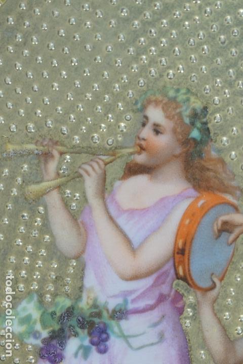 Antigüedades: PLATO PORCELANA. VIENA. AUSTRIA. SIGLO XIX-XX. - Foto 8 - 125072335