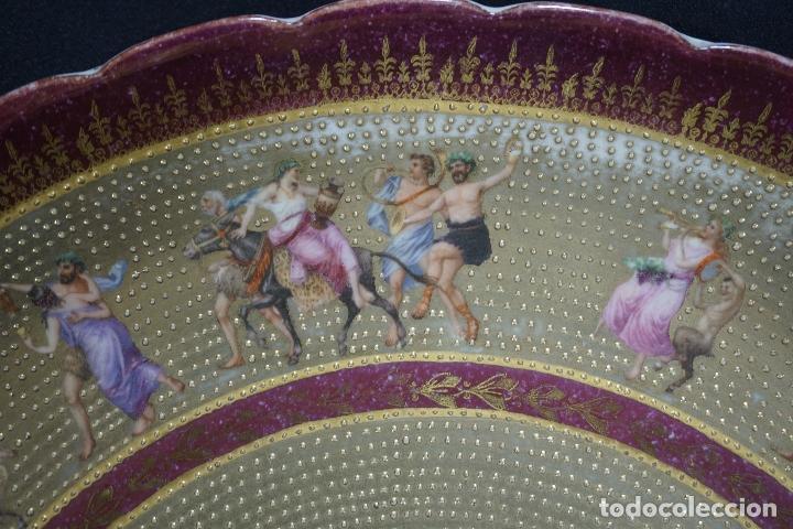 Antigüedades: PLATO PORCELANA. VIENA. AUSTRIA. SIGLO XIX-XX. - Foto 9 - 125072335