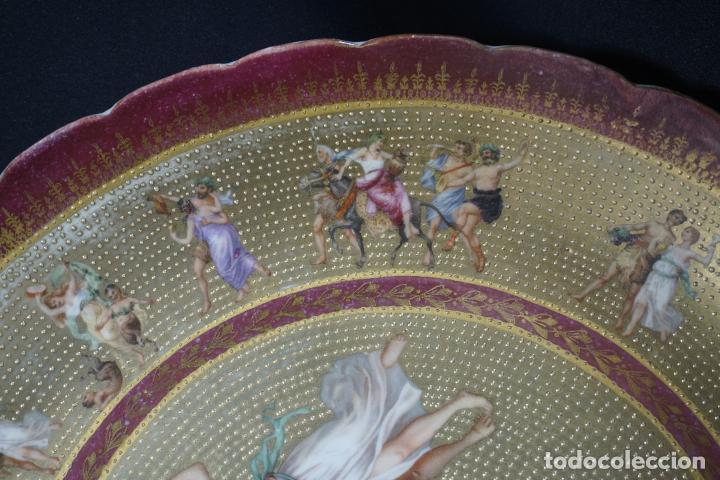 Antigüedades: PLATO PORCELANA. VIENA. AUSTRIA. SIGLO XIX-XX. - Foto 11 - 125072335