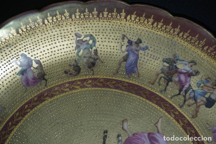 Antigüedades: PLATO PORCELANA. VIENA. AUSTRIA. SIGLO XIX-XX. - Foto 13 - 125072335