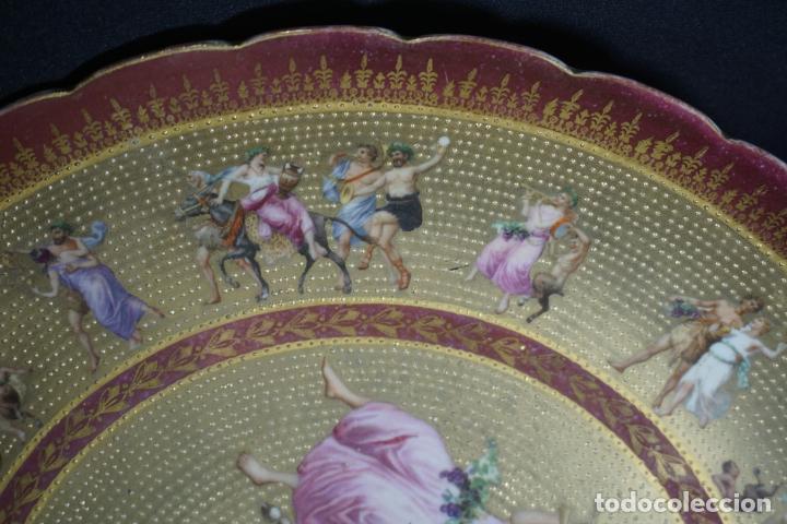 Antigüedades: PLATO PORCELANA. VIENA. AUSTRIA. SIGLO XIX-XX. - Foto 14 - 125072335