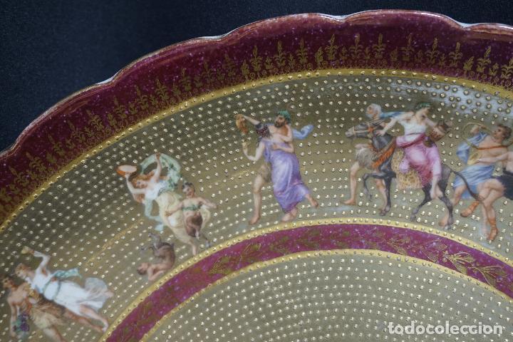 Antigüedades: PLATO PORCELANA. VIENA. AUSTRIA. SIGLO XIX-XX. - Foto 16 - 125072335