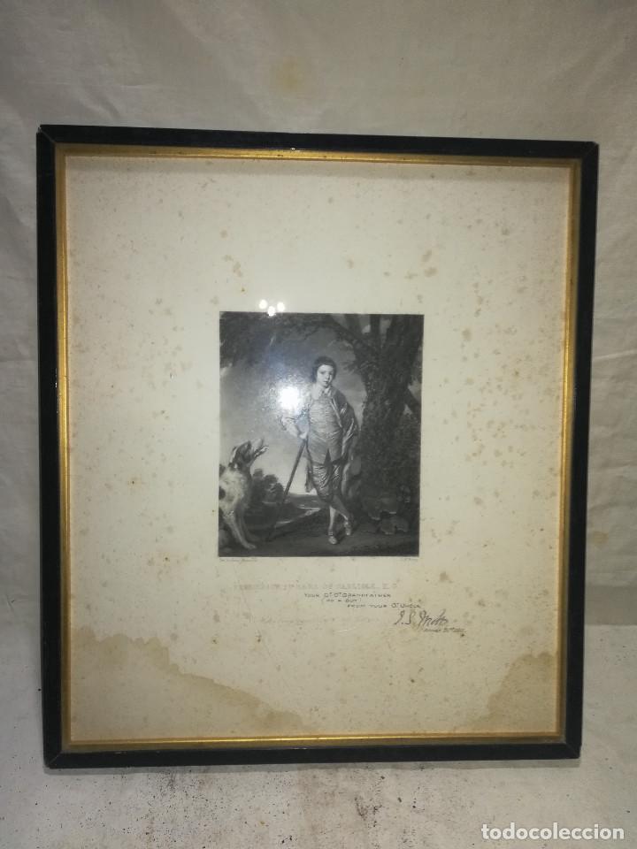 marco antiguo de grabado del año 1911. - Comprar Marcos Antiguos de ...