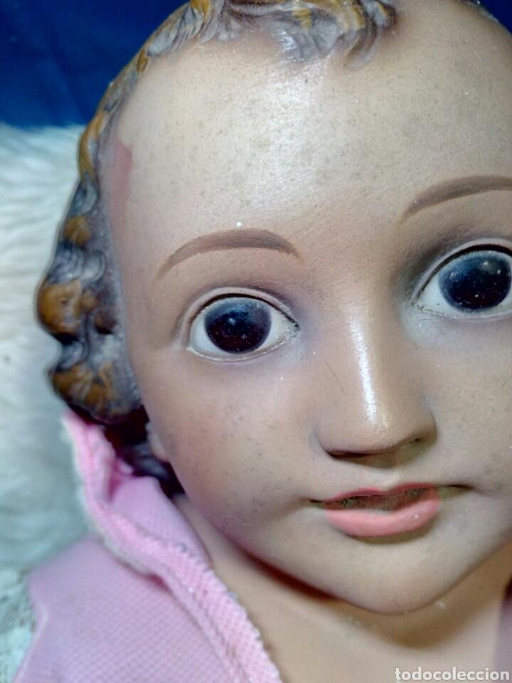Antigüedades: Precioso niño jesus antiguo a restaurar - Foto 3 - 125165342