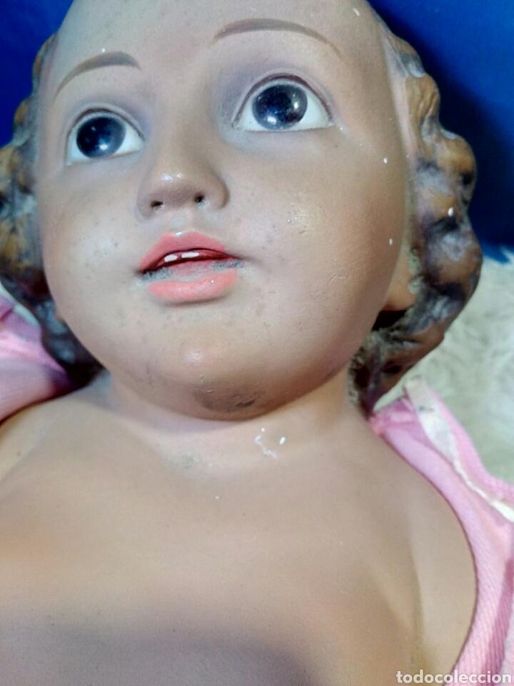 Antigüedades: Precioso niño jesus antiguo a restaurar - Foto 16 - 125165342