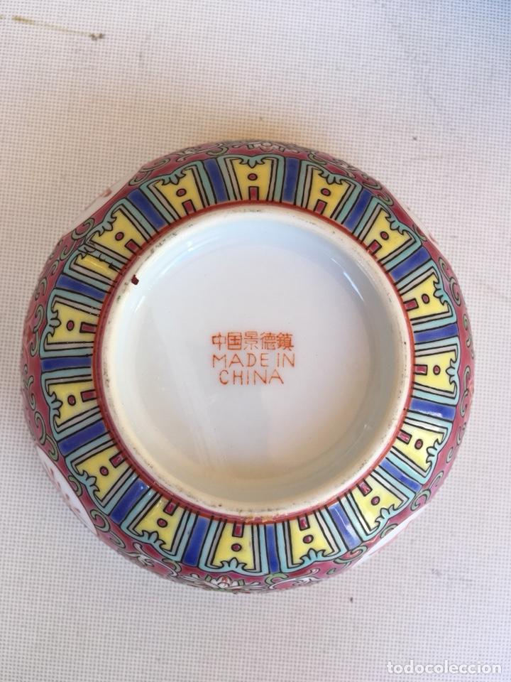 Antigüedades: DOS CUENCOS DE PORCELANA CHINA DE PRICIPIOS DE SIGLO XX - Foto 3 - 125225311
