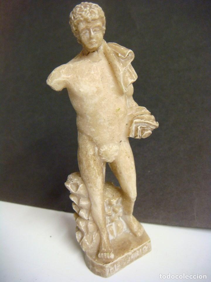 Antigüedades: FIGURA DE DIOSES GRIEGOS ( MERCURIO ) (#) - Foto 2 - 125237215