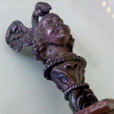 Antigüedades: MARAVILLOSO ABRECARTAS ANTIGUO DE PLATA DE LEY Y MARFIL. Lote 125252331