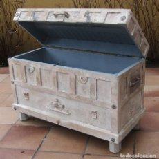 Antigüedades: GRAN BAÚL EXCLUSIVO. Lote 125257023