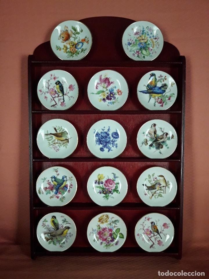 PLATITOS DE PORCELANA ROYAL KENT (Antigüedades - Porcelanas y Cerámicas - Otras)