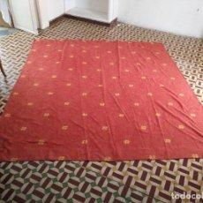 Antigüedades: GIGANTESCA CORTINA TELON TIPO CHENILLA , BUEN ESTADO LISTA PARA COLGAR O CONFECCIONES 250 X 228 CM . Lote 125280719