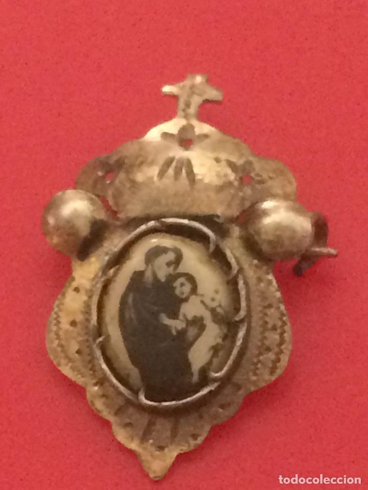 RELIQUIA AÑOS 30 (Antigüedades - Religiosas - Medallas Antiguas)
