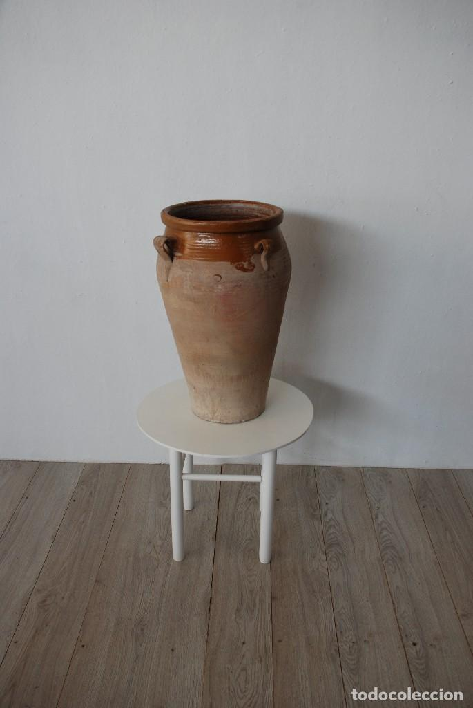 TINAJA DE BARRO ANTIGUA ALTO 0,67 (Antigüedades - Técnicas - Rústicas - Utensilios del Hogar)