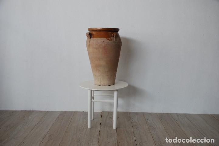 Antigüedades: TINAJA DE BARRO ANTIGUA ALTO 0,67 - Foto 2 - 125323579